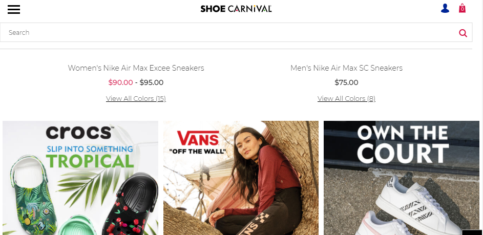 Comprehensive Shoe Stores in Louisville
