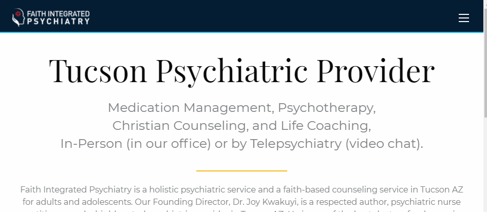 Dependable Psychiatrists in Tucson