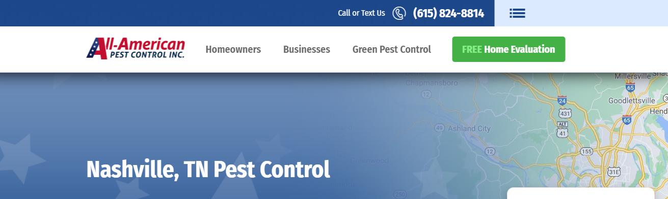 safe Pest Control Companies in Nashville