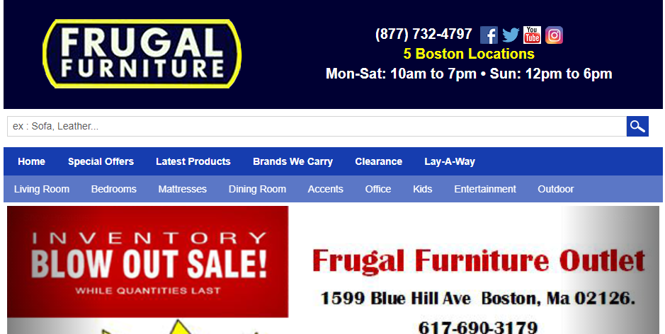 Great Furniture Stores in Boston