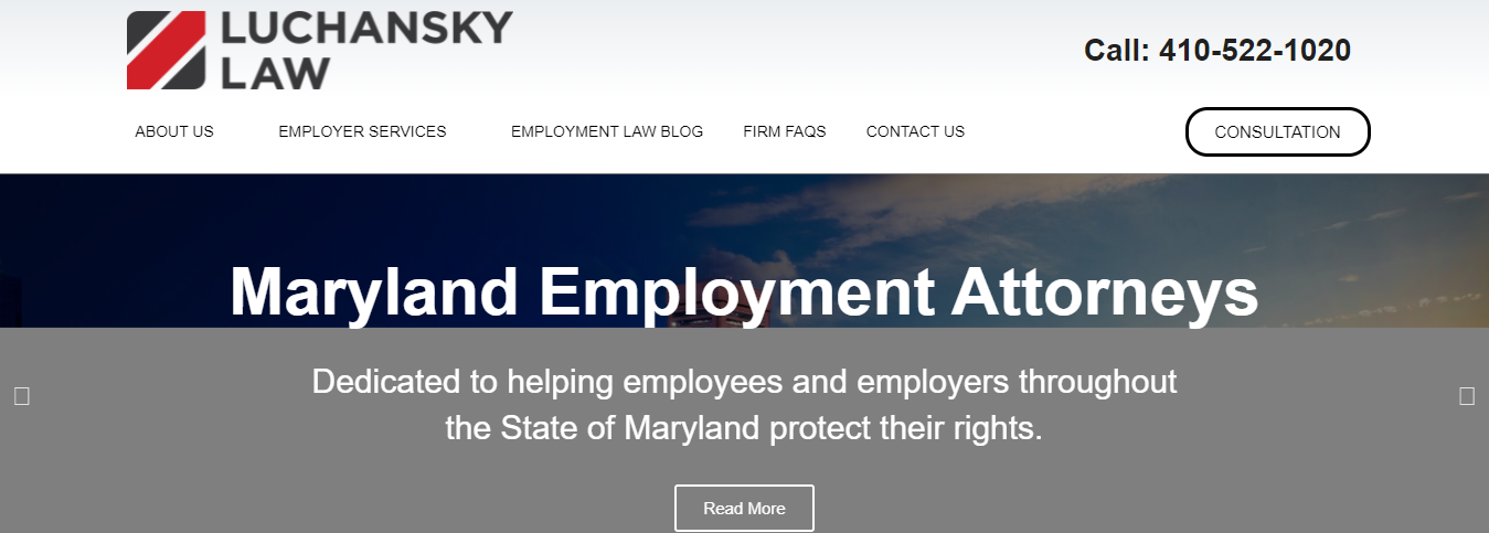 hardworking Unfair Dismissal Attorneys in Baltimore