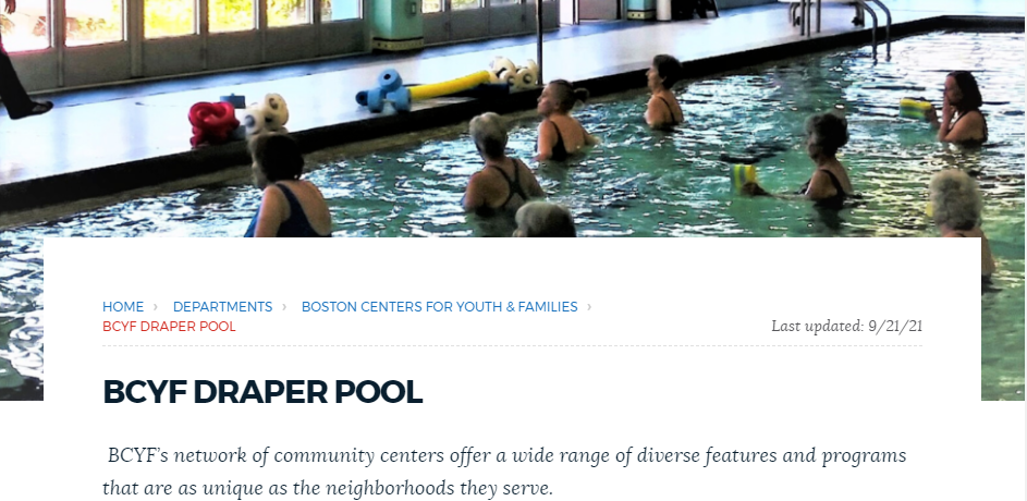Well-maintained Swimming Pools in Boston
