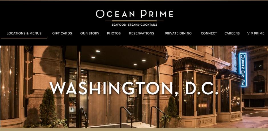 Popular Seafood Restaurants in Washington
