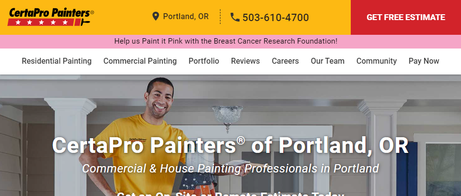 Reliable Painting Contractors in Portland
