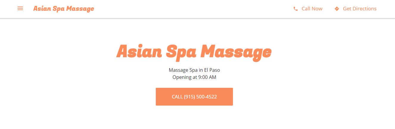 relaxing Thai Massage in El Paso