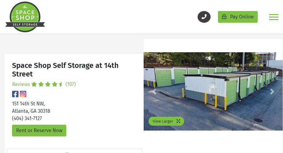 Reliable Storage in Atlanta