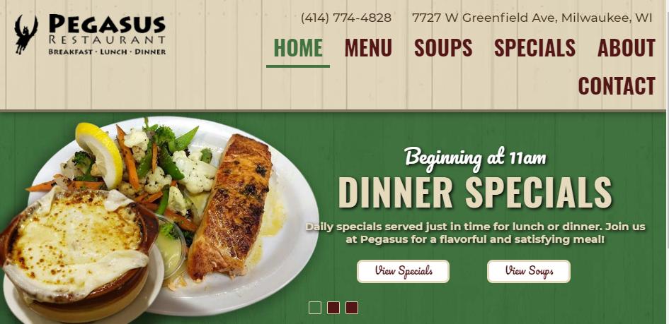 Ambient Greek Food in Milwaukee
