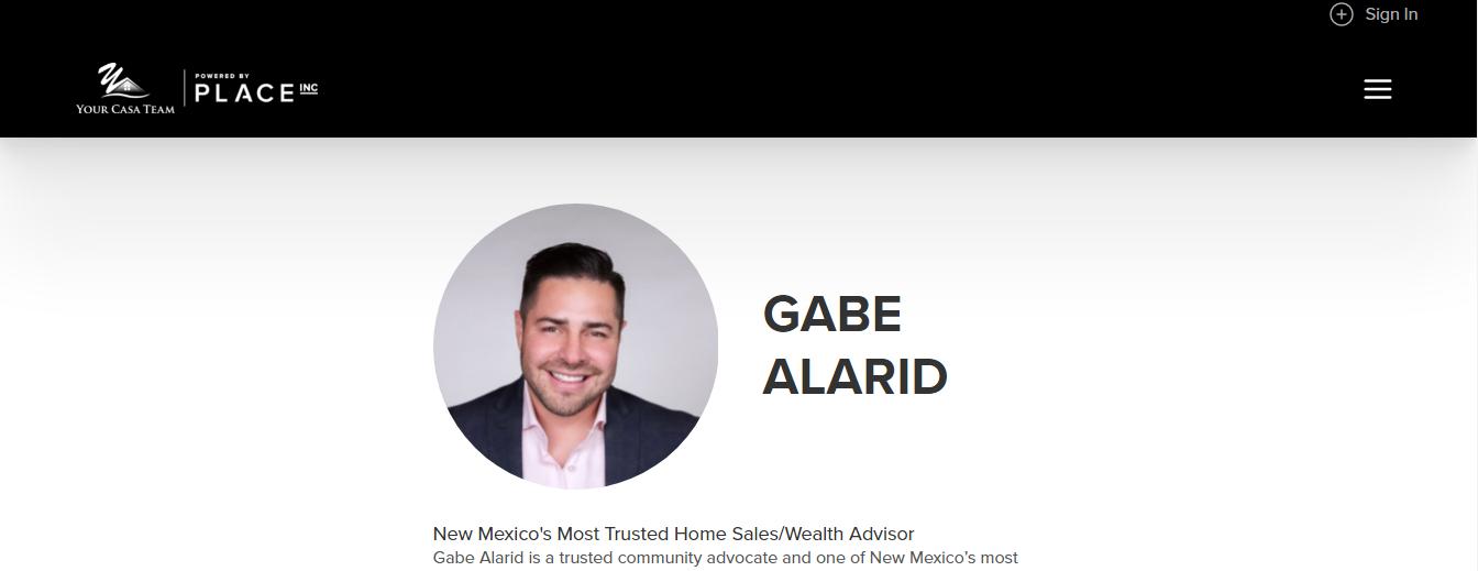 Gabe Alarid, Keller Williams Realty - PLACE (Albuquerque)