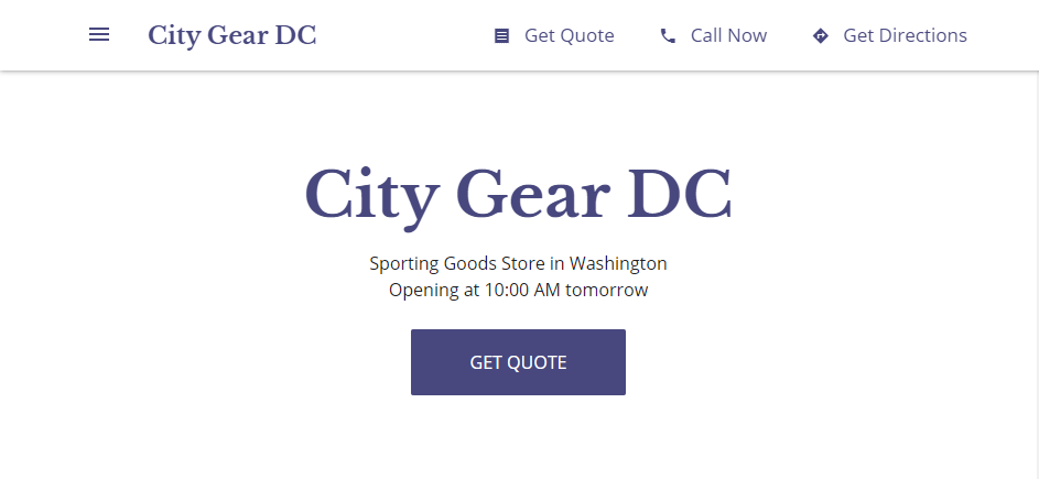 Affordable Sports Goods in Washington