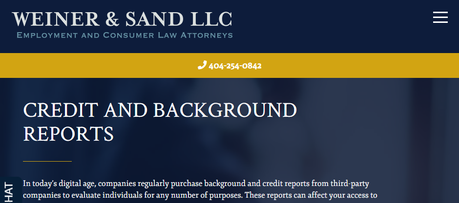 Aggressive Consumer Protection Attorneys in Atlanta
