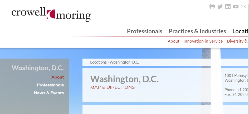 Expert Corporate Lawyers in Washington
