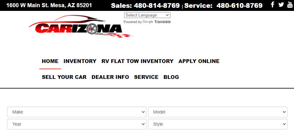 Popular Car Dealerships in Mesa
