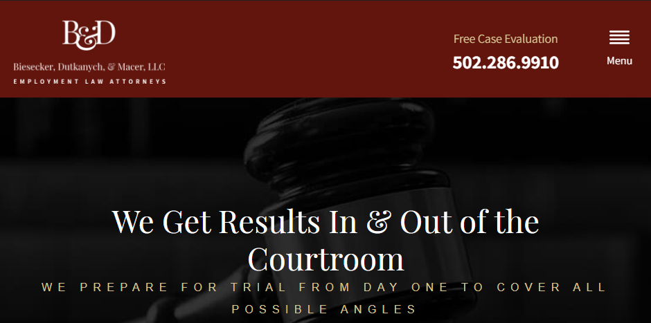 Reliable Employment Attorneys in Louisville