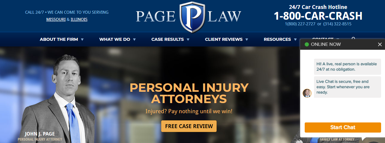 Excellent Personal Injury Attorneys in St. Louis, MO