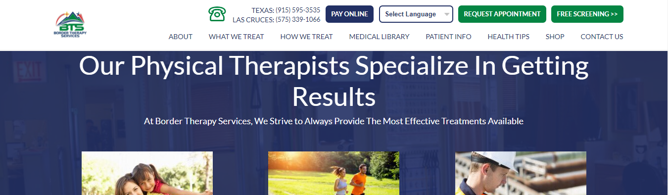 effective Physiotherapy in El Paso