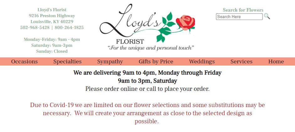 Creative Florists in Louisville