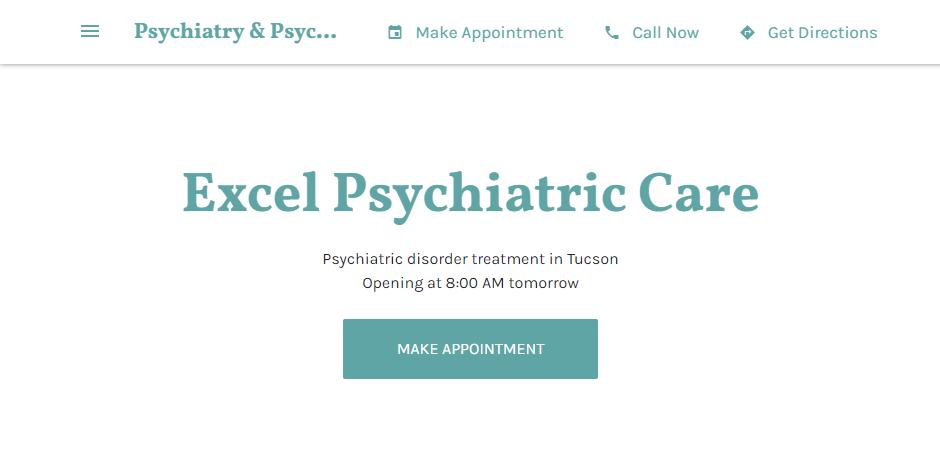 Professional Psychiatrists in Tucson