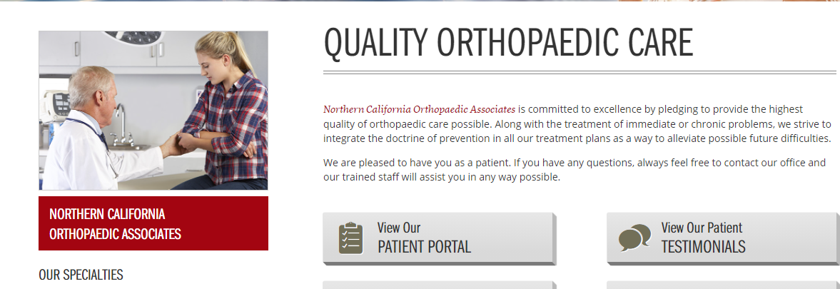 committed Ortho Pediatricians in Sacramento