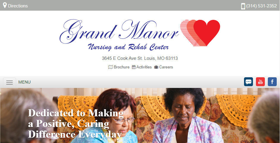 Friendly Aged Care Homes in St. Louis
