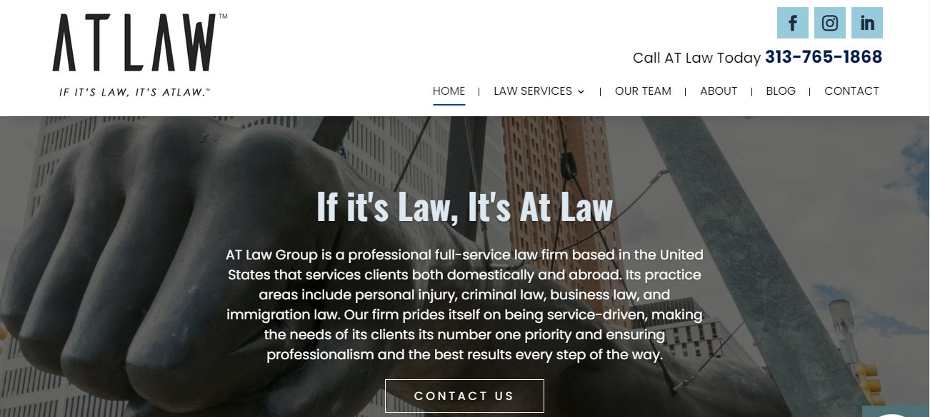 AT Law Group in Detroit, MI