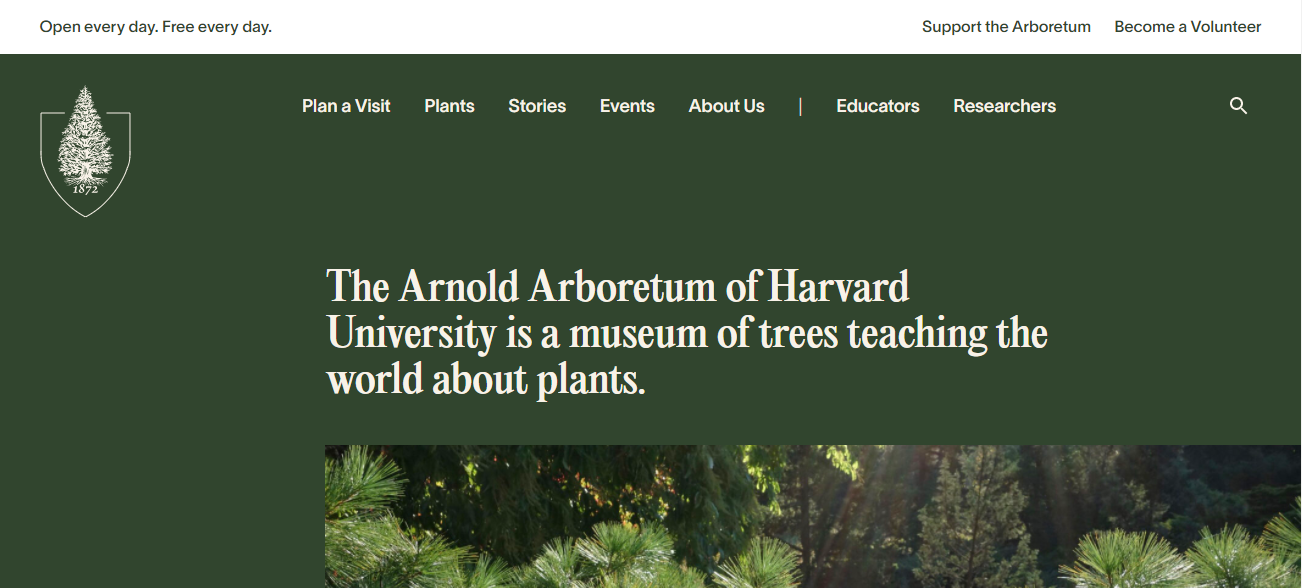 Arnold Arboretum in Boston, MA