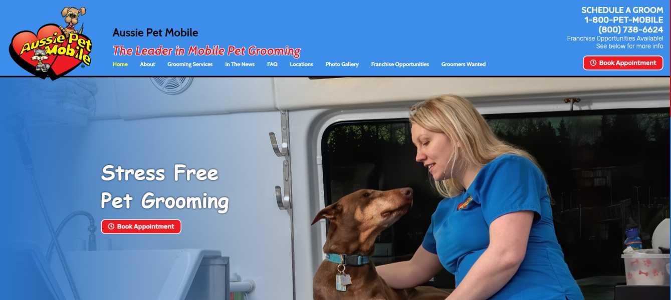 Aussie Pet Mobile Fresno