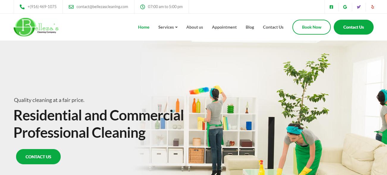 Belleza's Cleaning Company in Sacramento, CA