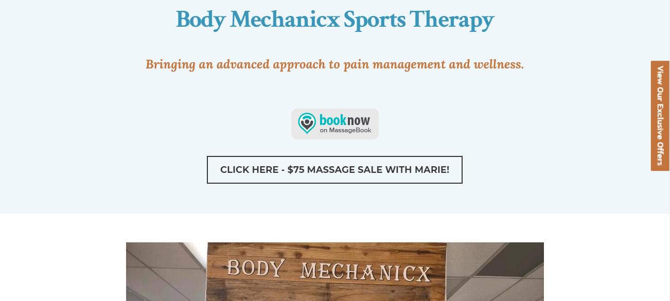 Body Mechanicx Sports Therapy in Mesa, AZ