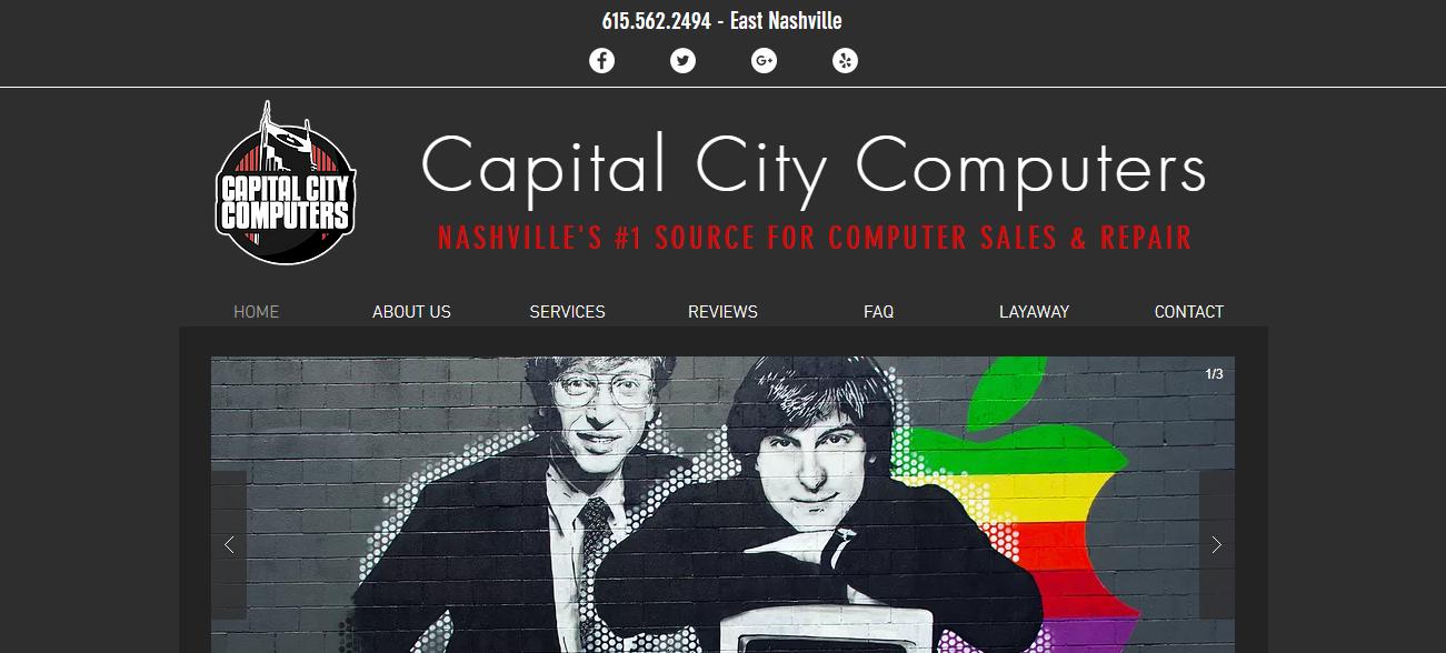Capital City Computers in Nashville, TN