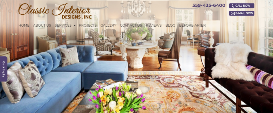 Classic Interior Designs in Fresno, CA