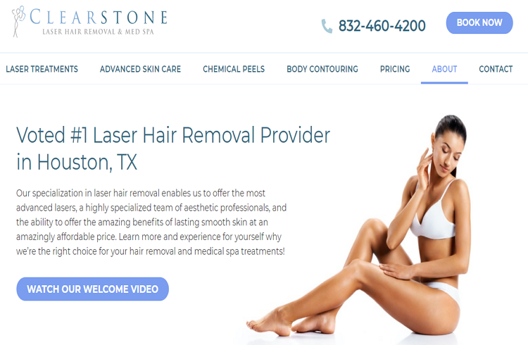 Good Laser Hair Removal in Houston