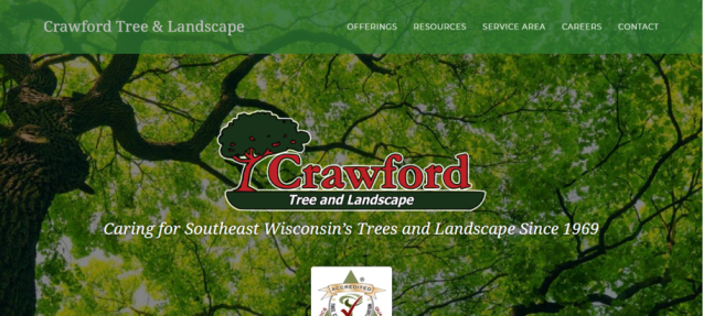 Crawford Tree & Landscape Services in Milwaukee, WI
