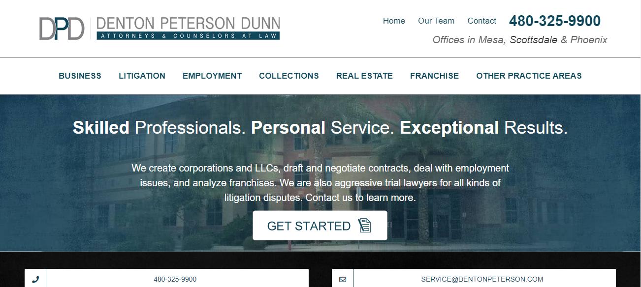 Denton Peterson Dunn in Mesa, AZ