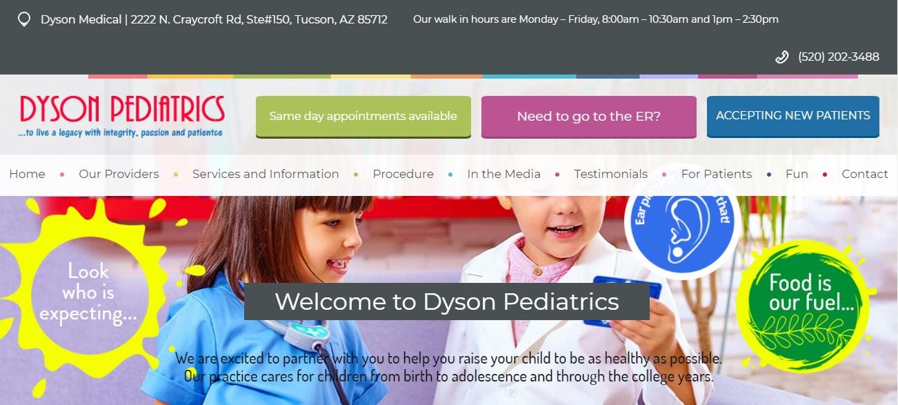 Dyson Pediatrics in Tucson, AZ