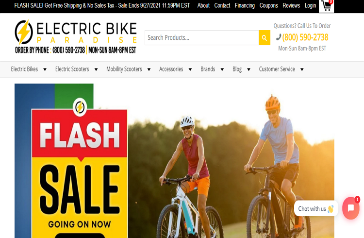 Top rated Stores with Electric Bikes