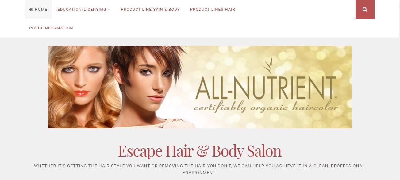 Escape Hair & Body Salon in Milwaukee, WI