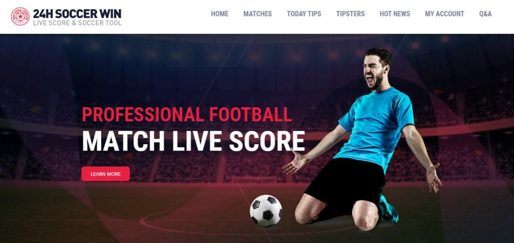 Live scores website football