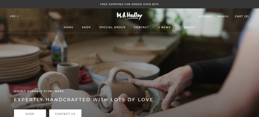 Hadley Pottery in Louisville, KY
