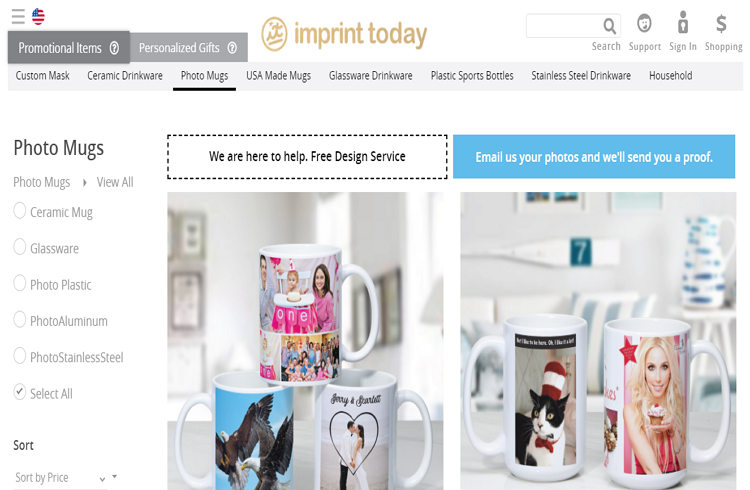 One of the best Websites Offering Personalized Coffee Mugs