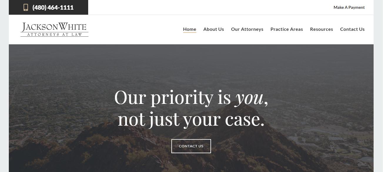 JacksonWhite Law in Mesa, AZ
