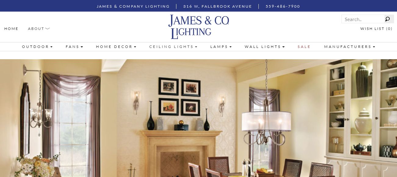 James & Company Lighting in Fresno, CA