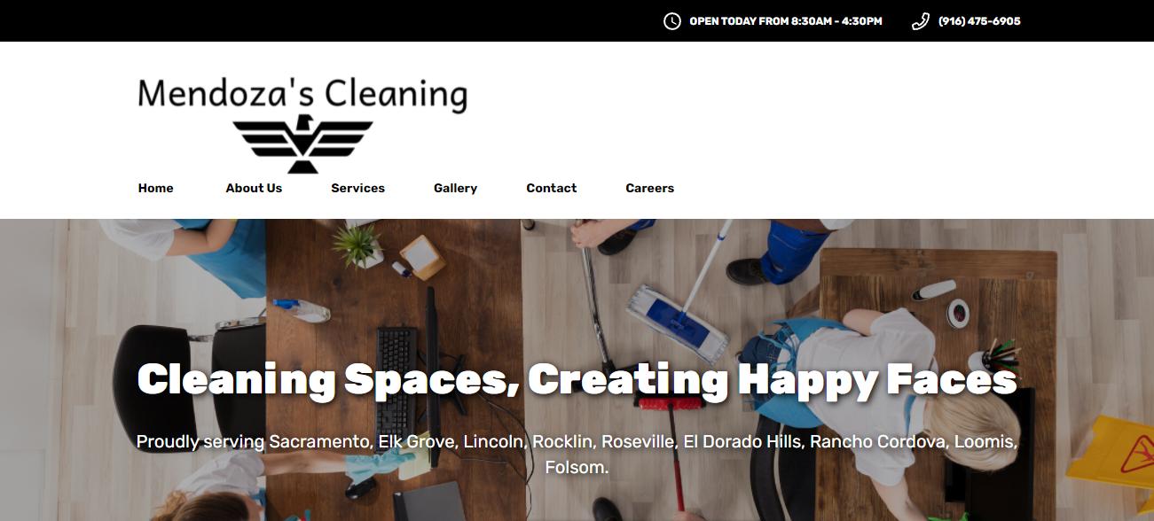 Mendoza's Cleaning in Sacramento, CA