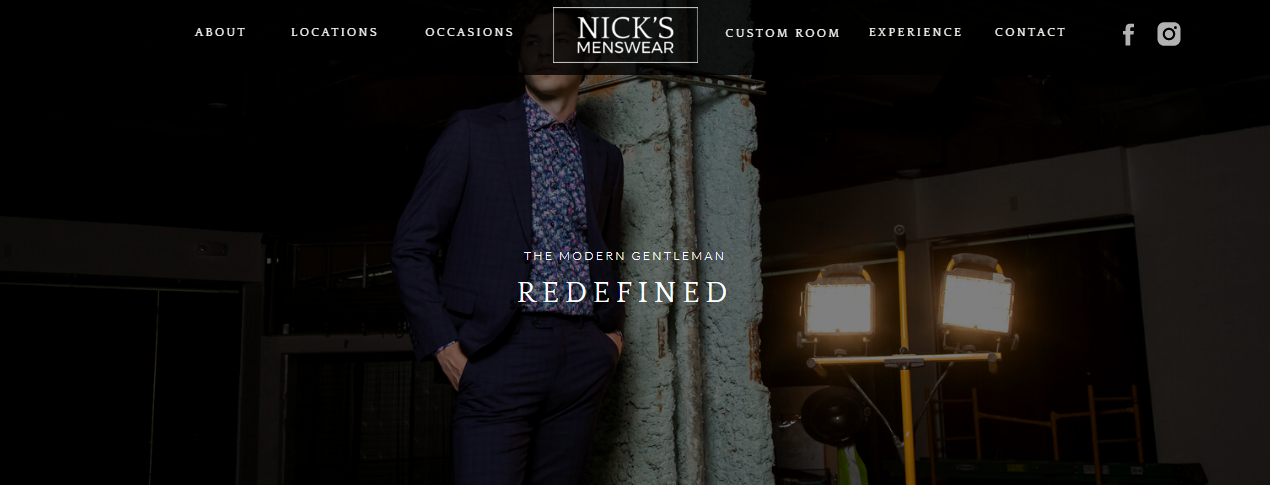 Nick's Menswear