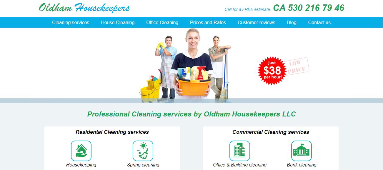 Oldham Housekeepers in Sacramento, CA