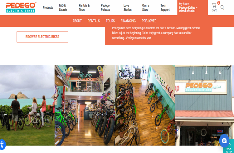 One of the best Stores with Electric Bikes
