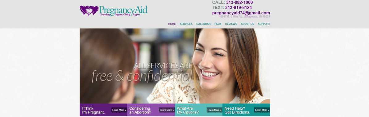Pregnancy Aid Detroit