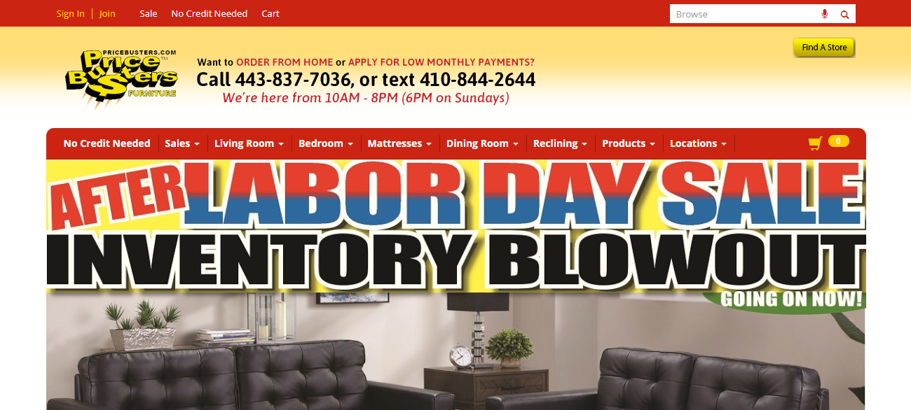 Price Busters Discount Furniture in Baltimore, MD