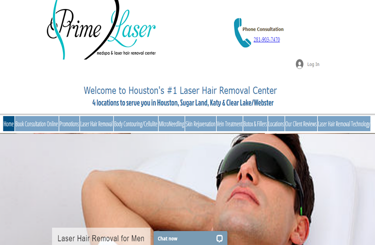 One of the best Laser Hair Removal in Houston