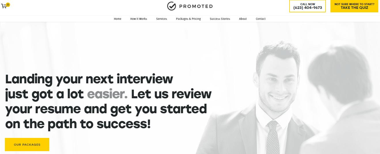 Promoted Resume