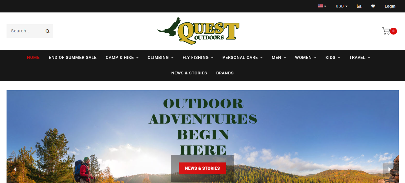 Quest Outdoors in Louisville, KY